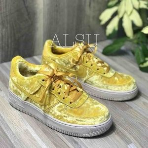 Nike Air Force 1 LV8 GS Mineral Gold W AUTHENTIC